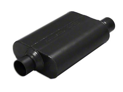 Flowmaster Super 44 Series Center/Offset Oval Muffler - 2.5 in. (Universal Fitment)