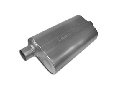 Flowmaster Super 50 Series Offset/Center Oval Muffler - 2.5 in. (Universal Fitment)