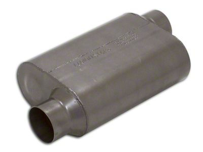 Flowmaster Super 40 Series Offset/Offset Oval Muffler - 3.5 in. (Universal Fitment)