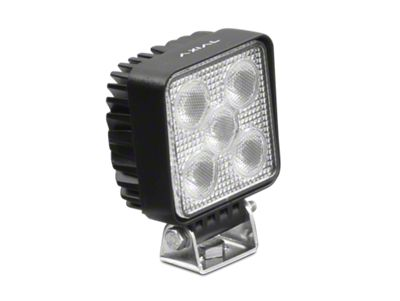 Axial 3 in. 5-LED Square Light - Flood Beam