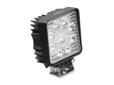 Axial 3.5 in. 9-LED Square Light - Spot Beam