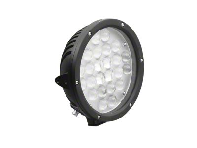 Axial 9 in. 24-LED Round Light - Flood Beam