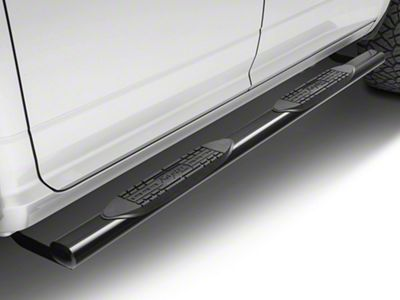 Raptor Series 4 in. Cab Length Oval Side Step Bars - Black (09-18 RAM 1500)