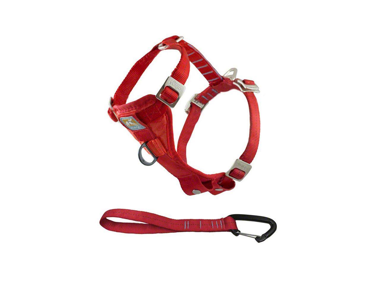 Kurgo Enhanced Strength TruFit Dog Car Harness - Red (02-19 RAM 1500)
