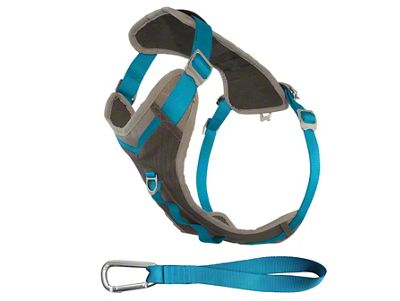 Kurgo Journey Dog Harness - Coastal Blue/Charcoal