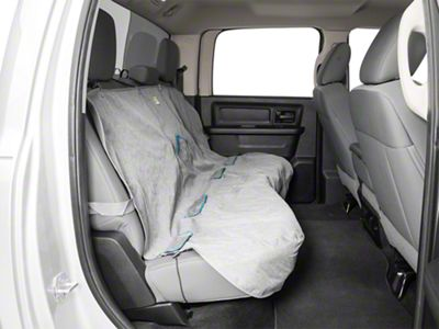Kurgo Rear Bench Seat Cover - Heather - Gray (02-19 RAM 1500 Quad Cab, Crew Cab, Mega Cab)