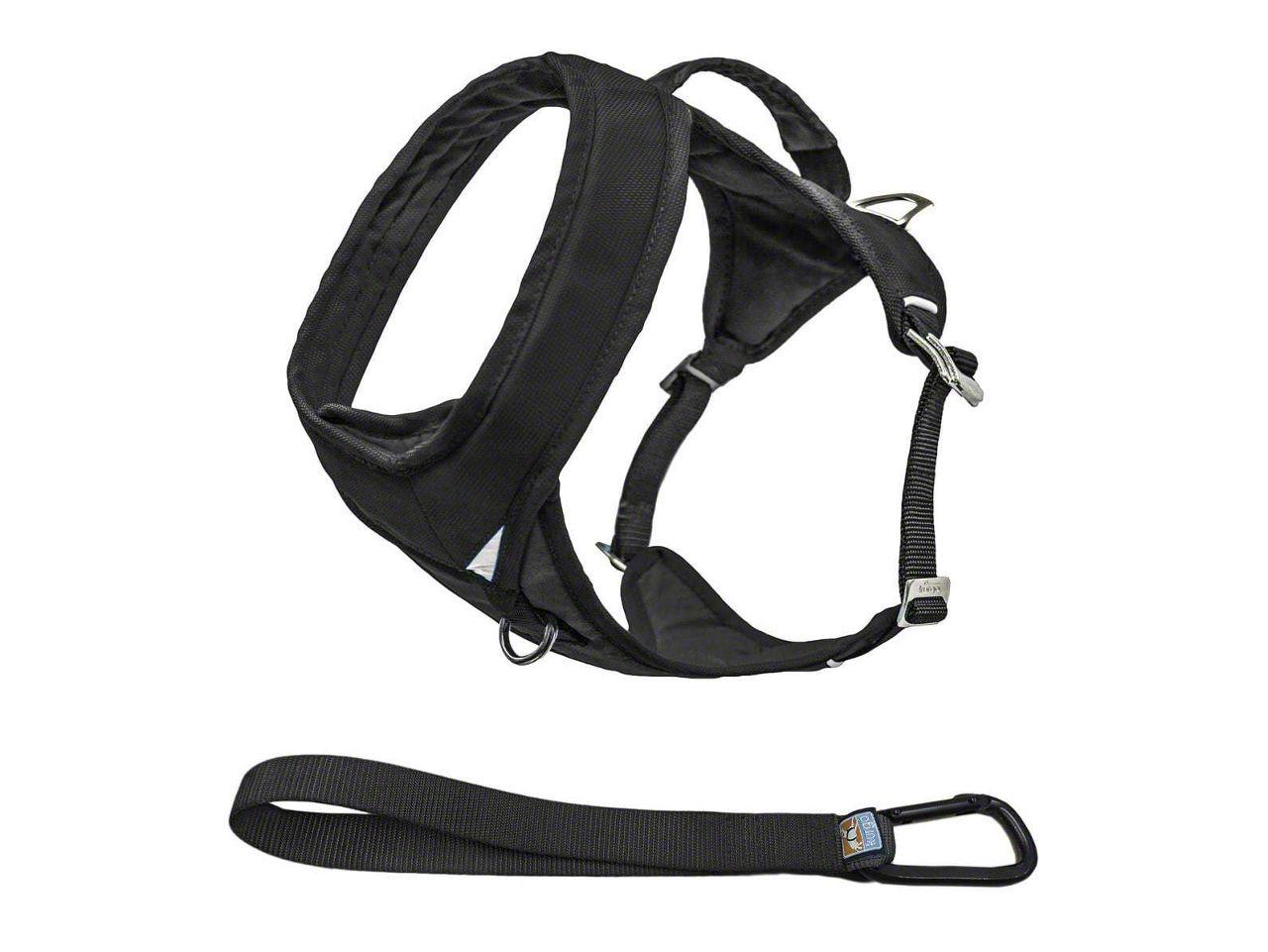 Kurgo Go-Tech Adventure Dog Harness - Black