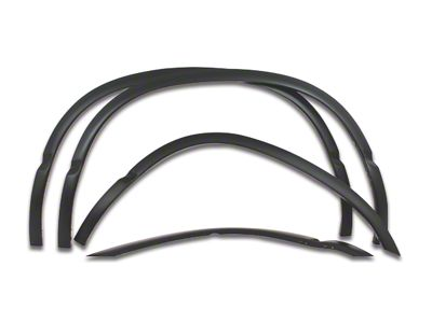 Stainless Steel Fender Trim - Matte Black (02-08 RAM 1500 w/ 6.4 ft. Box)