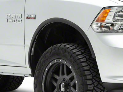 Stainless Steel Fender Trim - Matte Black (09-18 RAM 1500)