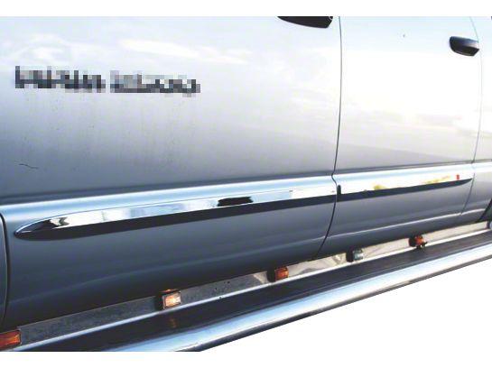 ABS Bodyside Moldings - Chrome (06-08 RAM 1500 Mega Cab)