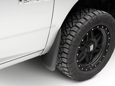 Husky Custom Molded Front & Rear Mud Guards (09-18 RAM 1500)