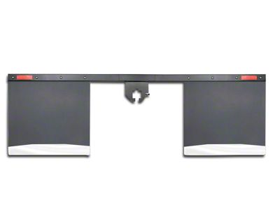 Husky 2 in. Receiver Hitch Mount Mud Flaps - 96 in. Wide (02-19 RAM 1500)