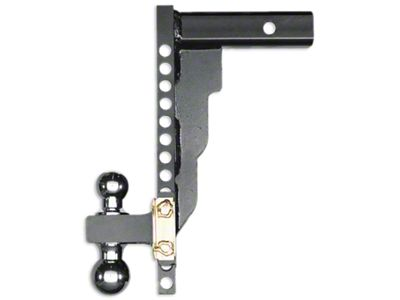 Husky 2 in. Receiver Adjustable Ball Mount - 14 in. Drop Hitch (02-19 RAM 1500)