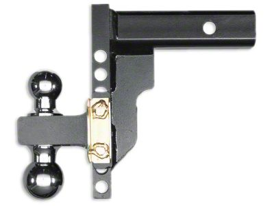 Husky 2 in. Receiver Adjustable Ball Mount - 8 in. Drop Hitch (02-19 RAM 1500)