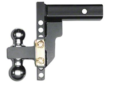 Husky 2.5 in. Receiver Adjustable Ball Mount - 8 in. Drop Hitch (02-19 RAM 1500)