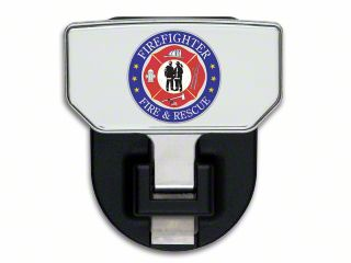 Carr HD Hitch Step w/ Fire & Rescue Logo (02-19 RAM 1500)