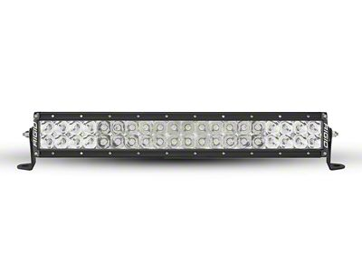 Rigid Industries 20 in. E-Series Amber LED Light Bar - Flood/Spot Combo