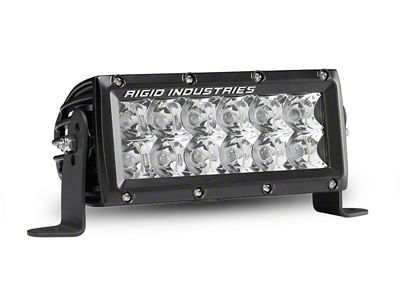 Rigid Industries 6 in. E-Mark E-Series LED Light Bar - Spot Beam