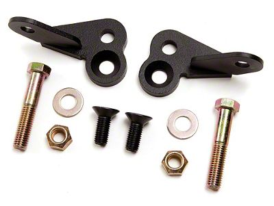 Zone Offroad Front Shock Extension Kit (02-05 4WD RAM 1500)