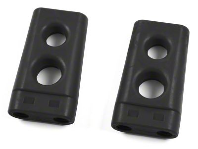 Zone Offroad 2.5 in. Extender for Stock Bump Stops (06-08 4WD RAM 1500 Mega Cab)