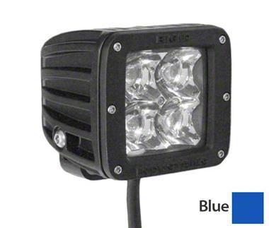 Rigid Industries D-Series Blue LED Cube Light - Spot Beam