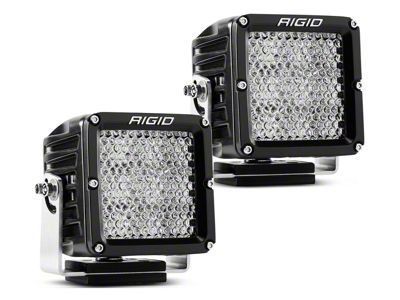 Rigid Industries Dually XL Series LED Cube Lights - 60 Deg. Diffused Beam - Pair