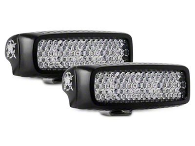 Rigid Industries SR-Q Series LED Light Bar - 60 Deg. Diffused Beam - Pair