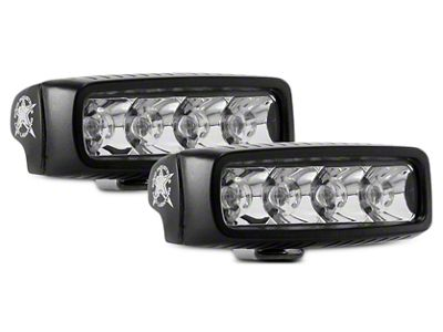 Rigid Industries SR-Q Series LED Light Bar - Spot Beam - Pair