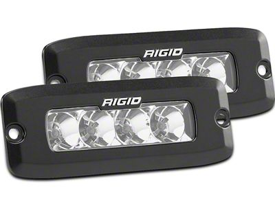 Rigid Industries SR-Q Series Flush Mount LED Light Bars - Flood Beam - Pair