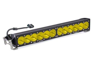 Baja Designs 20 in. OnX6 Amber LED Light Bar - Driving/Combo Beam