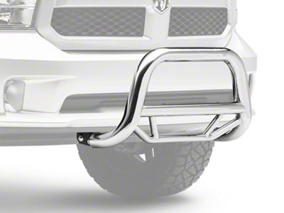 Black Horse Off Road Max Bull Bar - Stainless Steel (09-18 RAM 1500, Excluding Rebel)