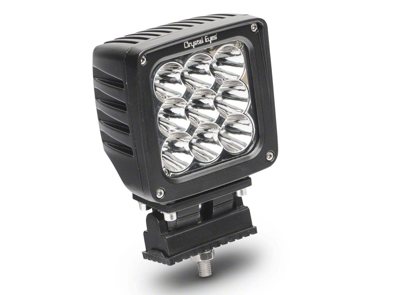 Alteon 4 in. Work LED Cube Light - 25 Degree Spot Beam
