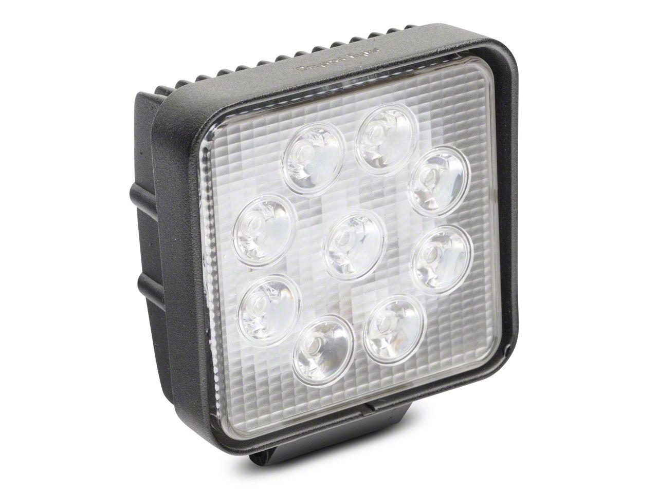 Alteon 4 in. Work Visor LED Cube Light - 30 Degree Flood Beam