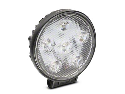 Alteon 4 in. Work Visor 6 LED Round Light - 30 Degree Flood Beam