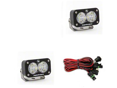 Baja Designs S2 Sport LED Light - Wide Cornering Beam- Pair