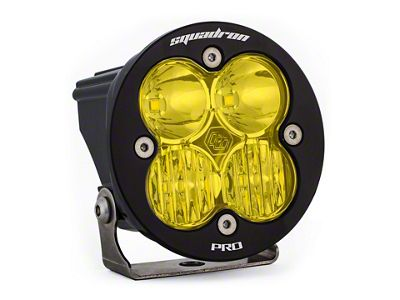 Baja Designs Squadron-R Pro Amber LED Light - Driving/Combo Beam