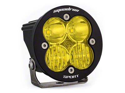 Baja Designs Squadron-R Sport Amber LED Light - Driving/Combo Beam