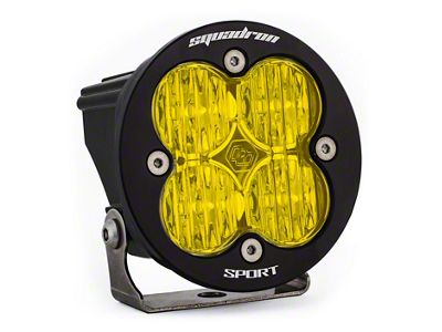 Baja Designs Squadron-R Sport Amber LED Light - Wide Cornering Beam