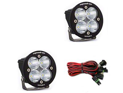 Baja Designs Squadron-R Sport LED Light - Flood/Work Beam - Pair