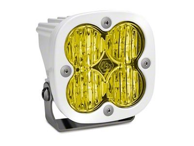 Baja Designs Squadron Sport Amber/White LED Light - Wide Cornering Beam