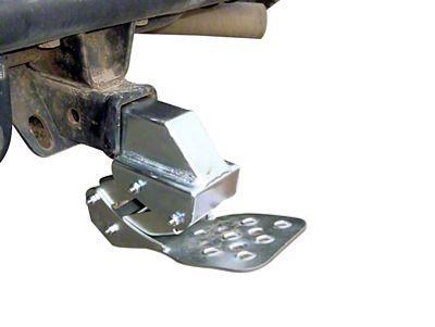 M.O.R.E. Receiver Hitch Hide-A-Step- Black (02-19 RAM 1500)