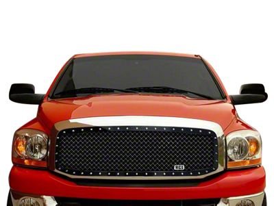Royalty Core RC1 5.0 Super Mesh Upper Replacement Grille - Gloss Black (02-05 RAM 1500)