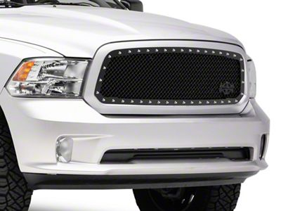Royalty Core RC1 5.0 Super Mesh Upper Replacement Grille - Gloss Black (13-18 RAM 1500, Excluding Rebel)