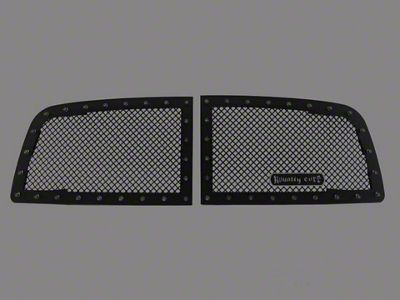 Royalty Core RC1 Classic 2-Piece Upper Grille Inserts - Black (09-12 RAM 1500)