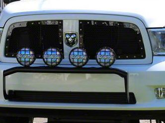 Royalty Core RC1 Classic 2-Piece Upper Grille Inserts - Black (13-18 RAM 1500, Excluding Rebel)