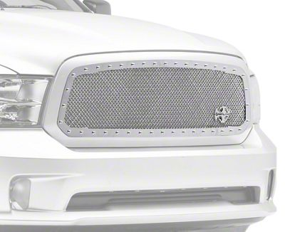 Royalty Core RC1 Classic Upper Replacement Grille - Chrome (13-18 RAM 1500, Excluding Rebel)
