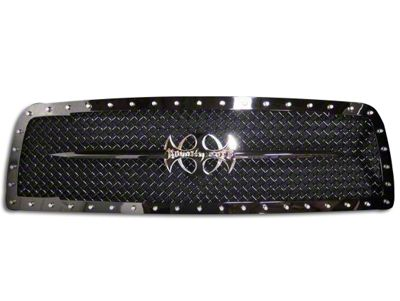 Royalty Core RC1 Sword Assembly Upper Replacement Grille - Black (09-12 RAM 1500)