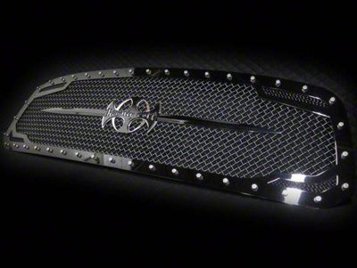Royalty Core RC2 Twin Mesh Sword Assembly Upper Replacement Grille - Black (13-18 RAM 1500, Excluding Rebel)