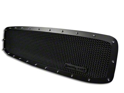 Royalty Core RCR Race Line Upper Replacement Grille - Satin Black (06-08 RAM 1500)