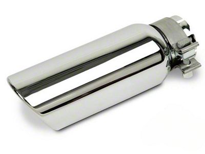 Black Horse Off Road 4x10 in. Exhaust Tip - Stainless Steel - 2.75 in Connection (02-19 RAM 1500)
